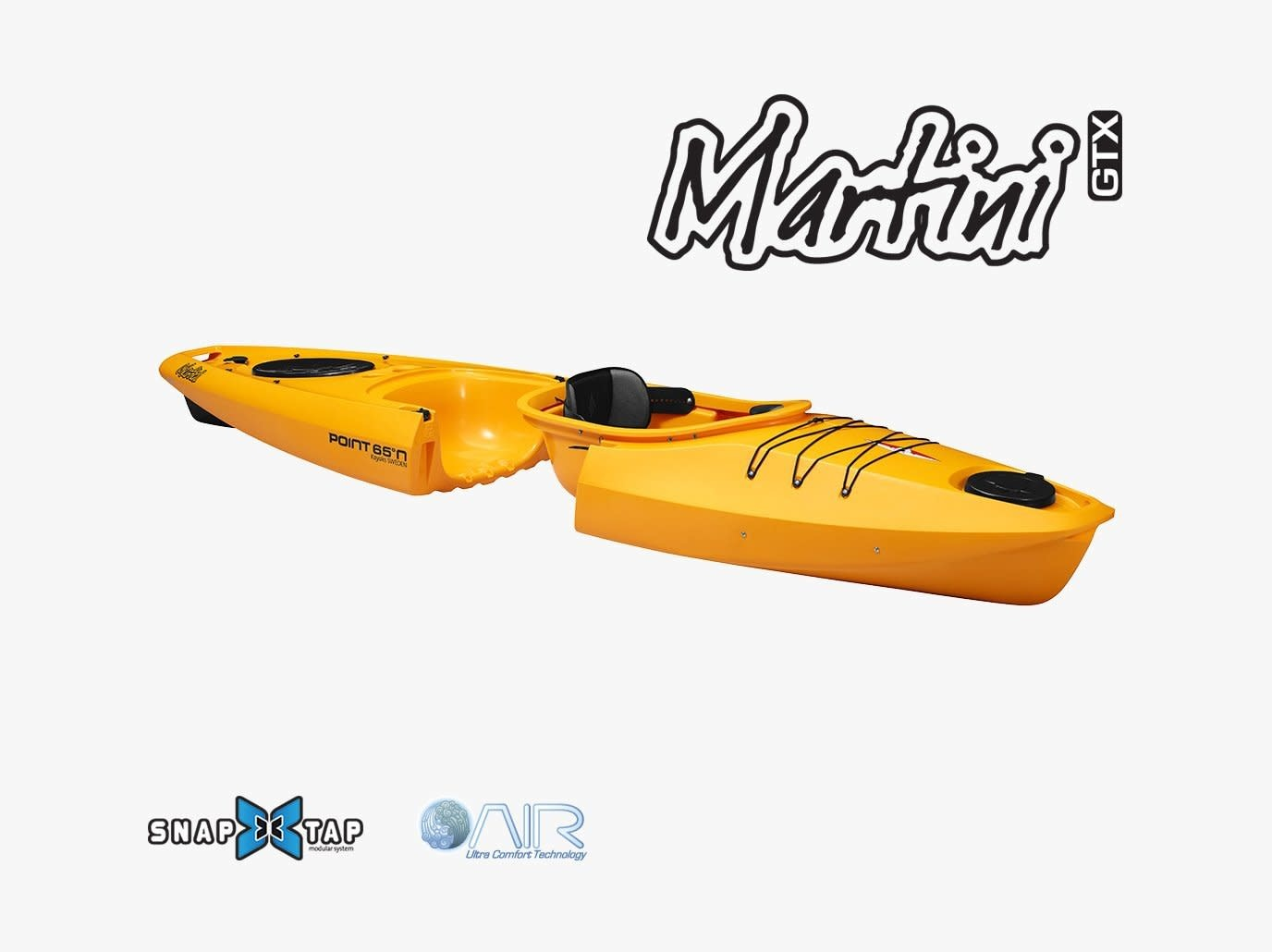 Point 65 North Kayaks Martini Yellow (Used)