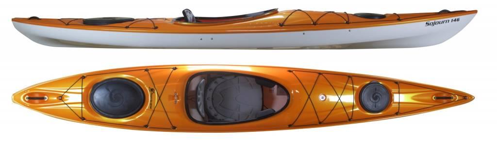 Hurricane Kayaks Sojourn 146 LV Rudder Ready