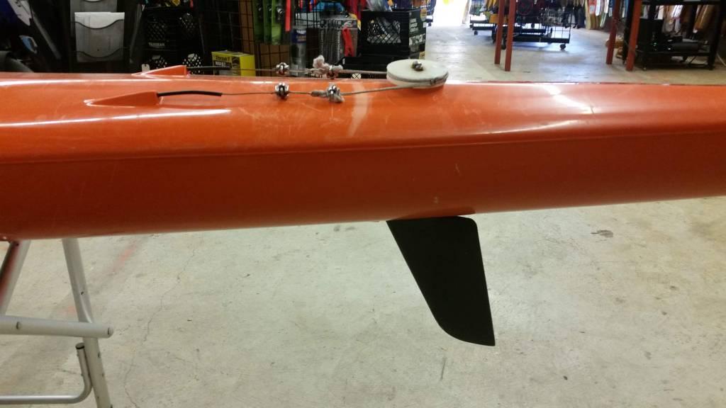 bullet Bullet Boats Bixler Spec Ski Orange