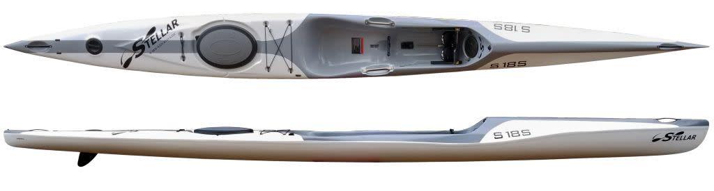 Stellar Kayaks S18S Advantage (Demo) Incl. Overstern Rud.