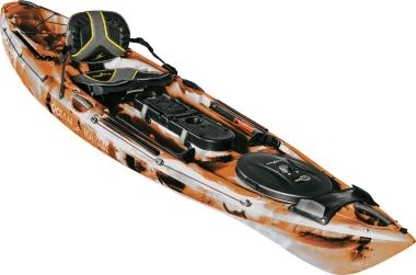 Ocean Kayak Trident 11 Angler Orange Camo (Discontinued)