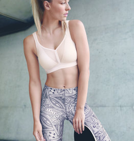 Air Control DeltaPad Sports Bra in Smart Rose