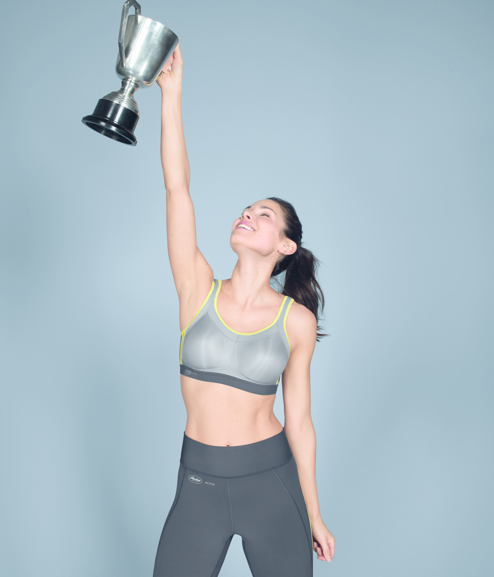 Anita Momentum Sports Bra 10 years of success in Iconic Grey