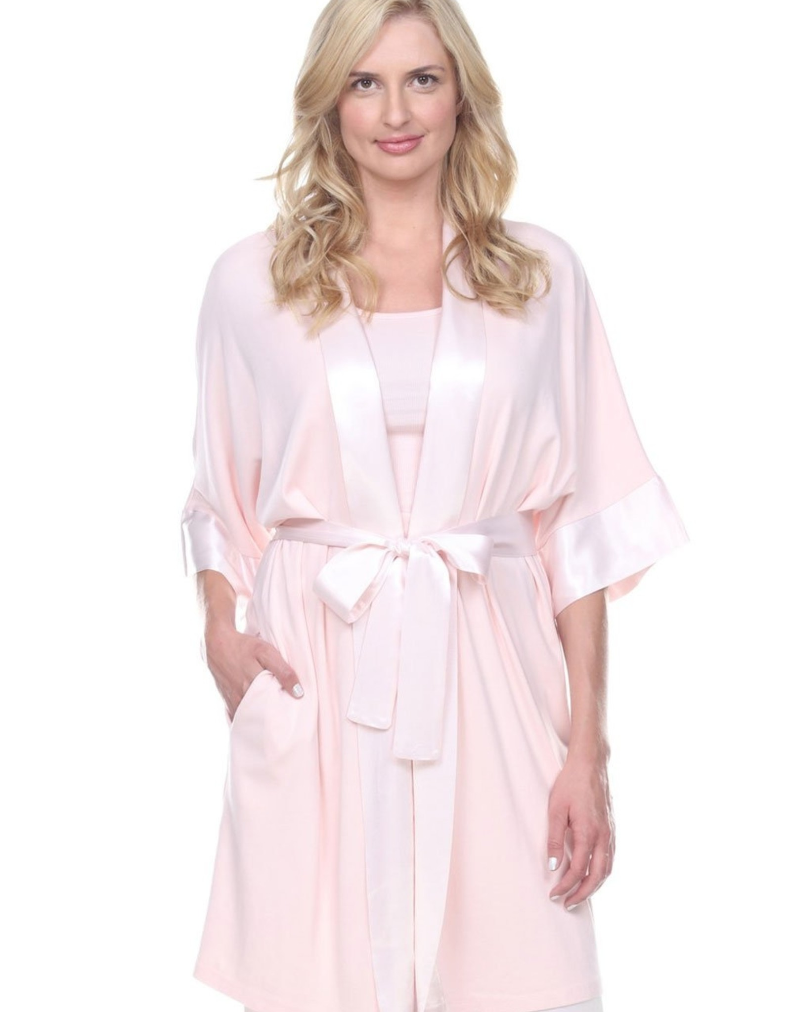 PJ Harlow Shala Robe With Attached Belt