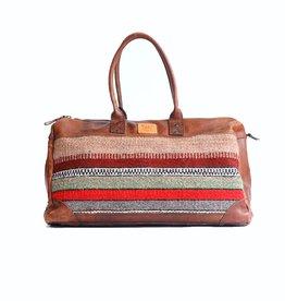 Wills Leather Oaxacan Duffle Bag
