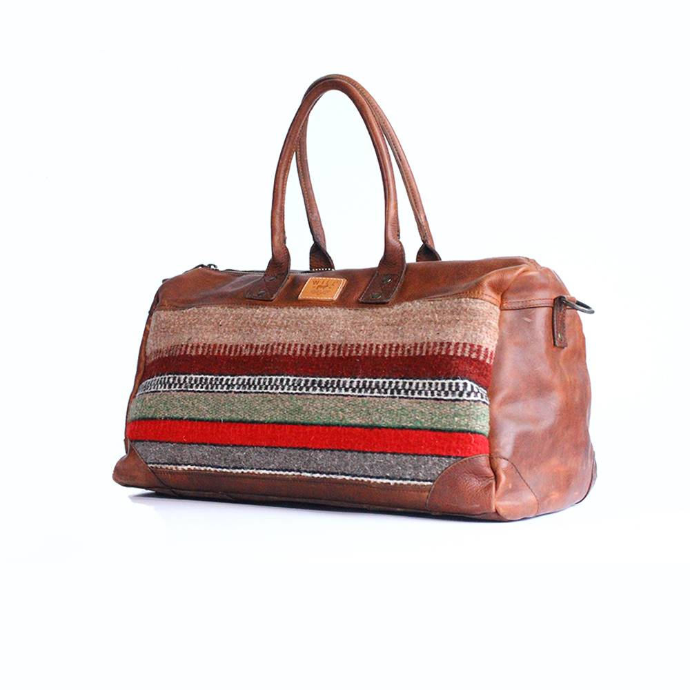 Wills Leather Goods - Oaxacan Duffle Bag