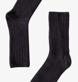 Bonnetier Merino wool  black socks