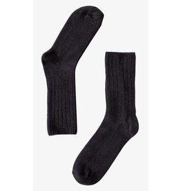 Bonnetier Merino wool  black socks