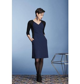 Cherry Bobin Astrid Dress - Waffle Blue