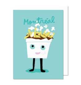 Paperole Poutine Greeting Card