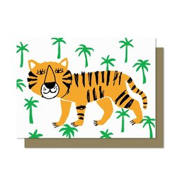 Paperole Tiger Greeting Card