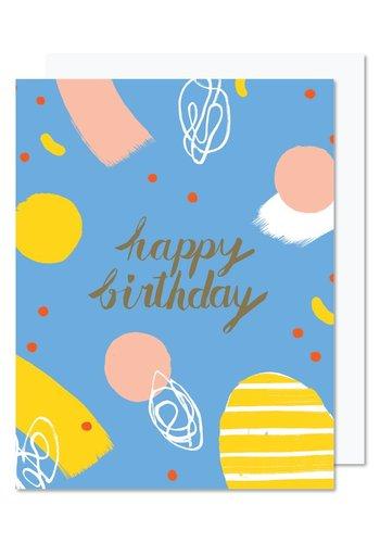 Carte souh. Happy birthday