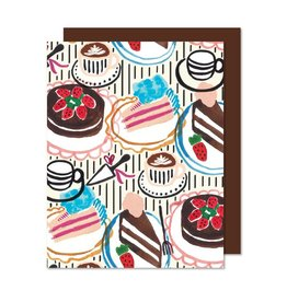 Paperole Greeting card Sweet table