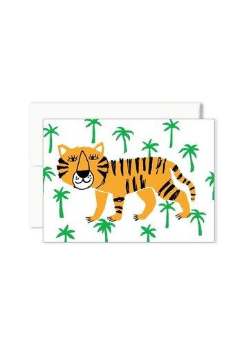 Carte mini tigre