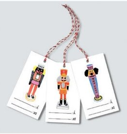 Paperole Tags for gifts Nutcracker