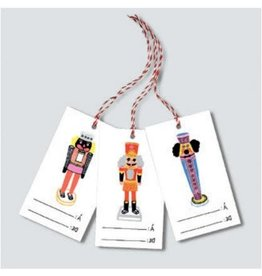 Paperole Étiquettes pour cadeaux Casse-Noisettes