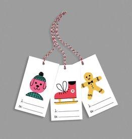 Paperole Étiquette pour cadeaux Bazar