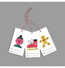 Paperole Tags for gifts Bazar
