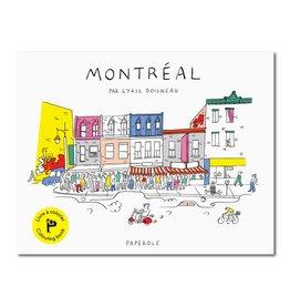 Paperole Colouring book Montréal