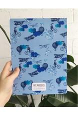"Merci Bonsoir par Marie-Claude Marquis MC Marquis - Grand cahier de notes ""Voyage, Voyaaage"""