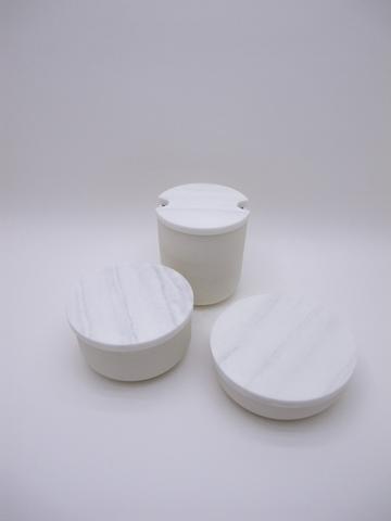 Jarre Pot à ail marbre