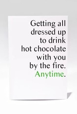 Masimto Greeting card Hot chocolate
