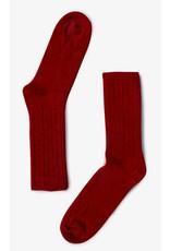 Bonnetier Merino wool  red socks
