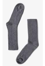 Bonnetier Grey Merino Wool Socks  B-0011