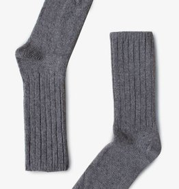 Bonnetier Merino wool grey sock