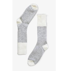Bonnetier Cabin long grey wool sock