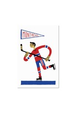 Paperole Hockey Post Card