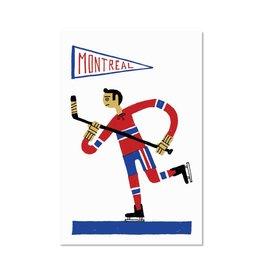 Paperole Carte postale Hockey