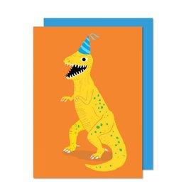 Paperole Dinosaur Greeting Card