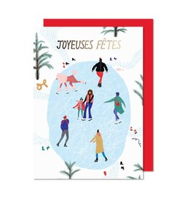 Paperole Holiday cards - Ice-skating rink