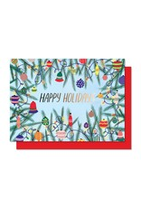 Paperole Paperole - Carte des fêtes - Guirlande