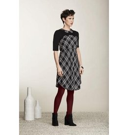 Cherry Bobin Long sleeve Blackbird dress