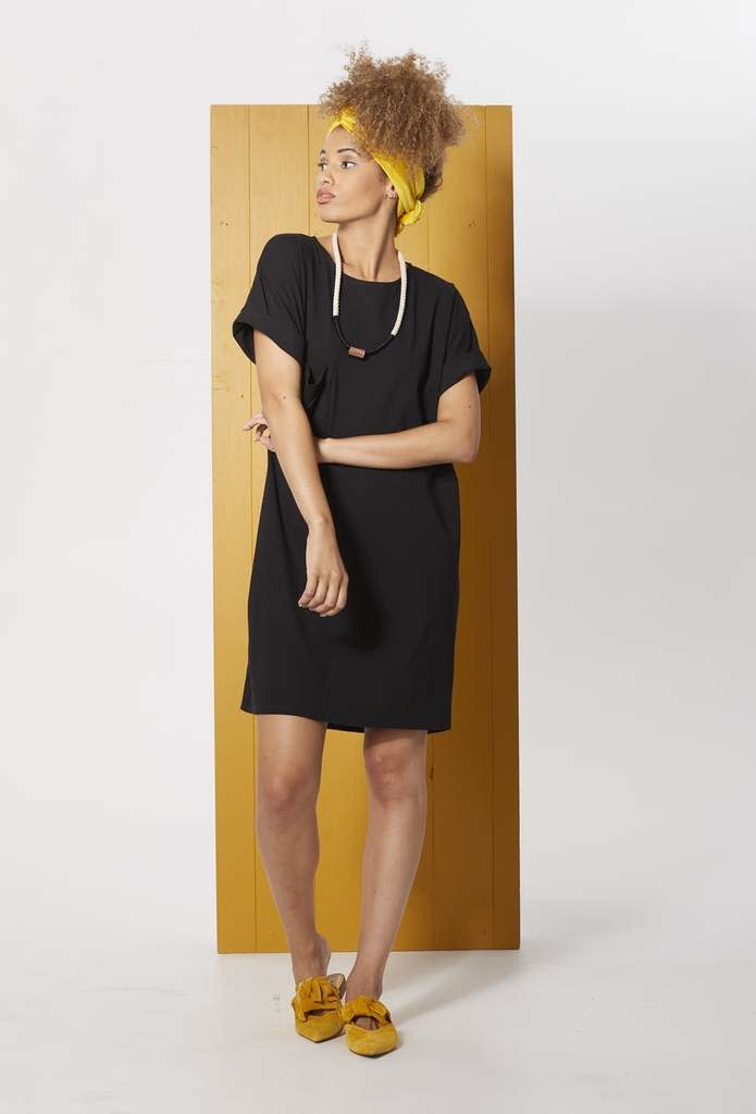 Cokluch Cokluch - Harrisia loose-fit t-shirt dress