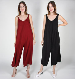 Birds of North America Bobwhite draped jumpsuit