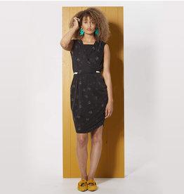Cokluch La robe croisée Passiflore