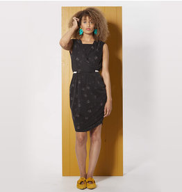 Cokluch Passiflore crossover dress