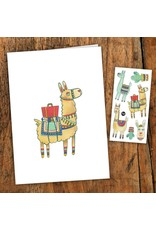 Pico tatoo Pico Tatoo - Carte de souhait - Noah l'alpaga