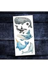 Pico tatoo Pico Tatoo - Tatouages temporaires - Les belles baleines