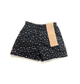Alice & Simone Reversible shorts - star - seagull print