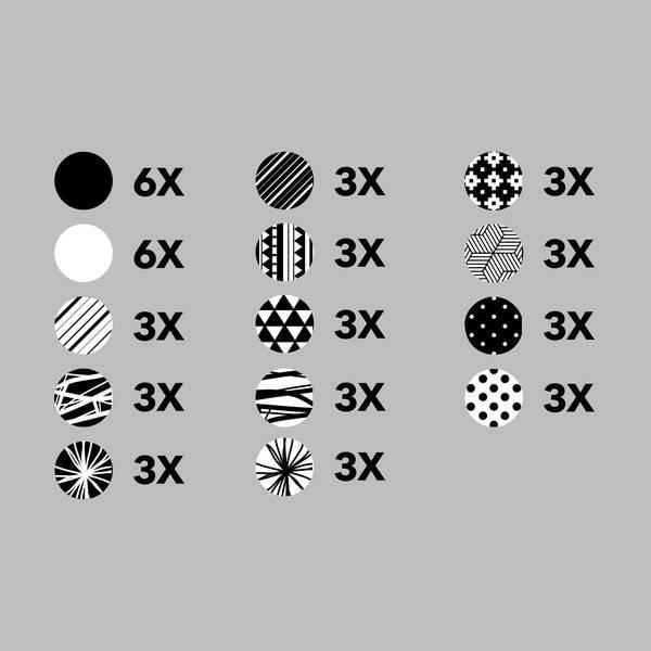 Pico tatoo Pico Tattoo Décalcomanies - Cercles Graphiques
