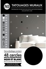 Pico tatoo Pico Tattoo Wall Decals - Graphic Circles