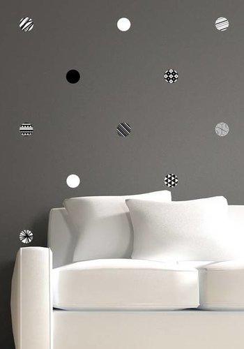 Décalcomanies - Cercles Graphiques