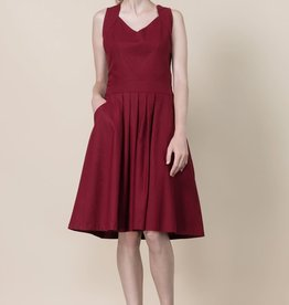 Jennifer Glasgow Rio Grande pleated dress