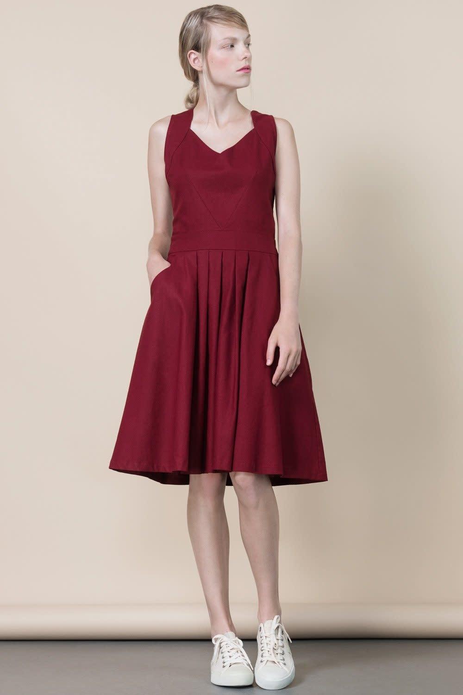 Jennifer Glasgow Jennifer Glasgow - Rio Grande pleated dress