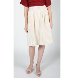 Birds of North America Macareux pleated skirt