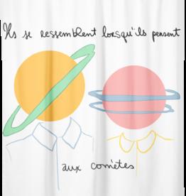 """Costume de Bain Rideau de douche """"Leçon d'astronomie"""""""